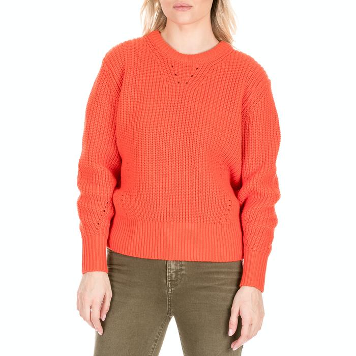 SCOTCH & SODA - Γυναικεία πλεκτή μπλούζα SCOTCH & SODA πορτοκαλί