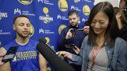 【八卦】【家長指引】NBA最美女記者就在勇士隊中