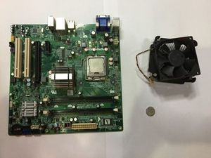 1.DELL VOSTORO 220s用 マザーボード+CPU PEN DUAL E2200 2.2GHZ W202