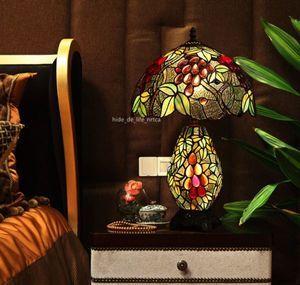 美しい◆人気推薦 ステンドランプ ステンドグラス アンティーク ティファニー技法 花柄