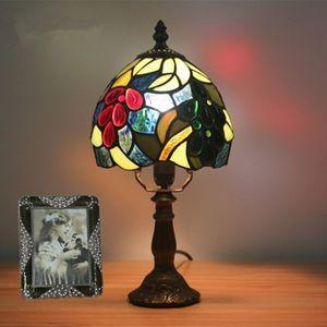 芸術品◆上級品◆美品 ステンドランプ ステンドグラス アンティーク レトロな雰囲気がお