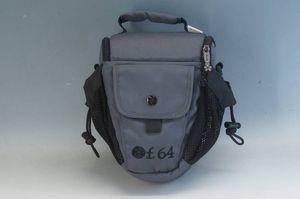 ★USA★f.64★カメラバッグ【ショルダーストラップ欠品】★グレー ソフトバッグ ナイロン