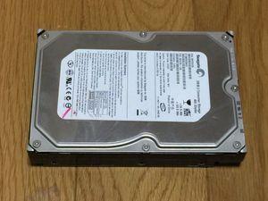 1.パナソニック DVDレコーダー DMR-XW30 用 HDDドライブ  SEAGATE 400GB IDE接続