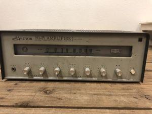 [sn0079] Victor ビクター PAP-435R 真空管ステレオレシーバー 中古 現状