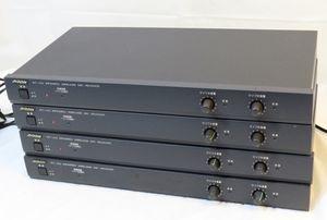 ※140◎Victor ビクター WT-J33 ワイヤレスマイクレシーバー 4台セット★0806-961