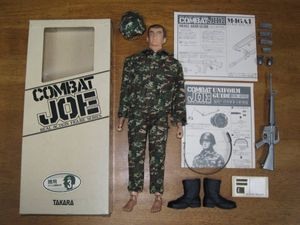 タカラ コンバット・ジョー 現用アメリカ陸軍歩兵 No.3 TAKARA COMBAT JOE 迷彩