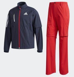 新品 定価23760円 adidas /アディダス クライマプルーフ レインウエア 上下セット【L】