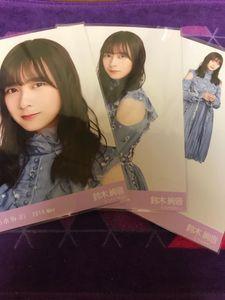 乃木坂46 鈴木絢音 Web限定 2019年5月度 生写真 7thBDライブ衣装1 3種コンプ
