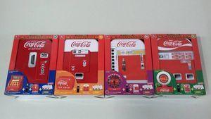 [30]♯コカ・コーラ120周年記念 コカ・コーラベンディングマシンCAN 4種セット 開封済