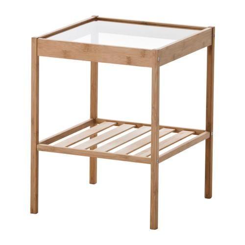 ☆ IKEA イケア ☆ NESNA ベッドサイドテーブル <幅: 36 cm 奥行き: 35 cm 高さ: 45 cm