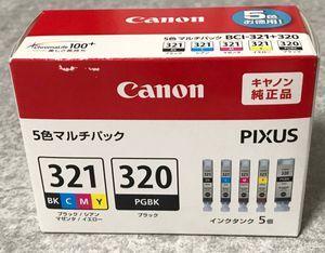 ★【新品未開封】Canon キャノン 純正 インクカートリッジ BCI-321+320/5MP【訳あり】★
