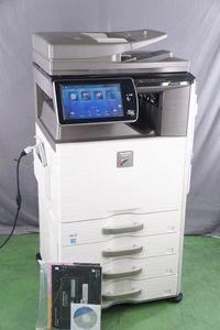 [PG]USED 動作確認済36960枚 SHARP MX-2640FN 複合機 取扱説明書 ソフトウェア付[ST22340