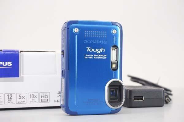 [PG]USED 3台入荷 OLYMPUS STYLUS TG-630 Tough LI-50B 充電器 元箱付 デジタルカメラ[SK