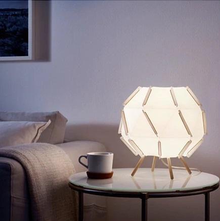 ☆ IKEA イケア ☆ SJOPENNA テーブルランプ 光のムードライト <最大: 8.6 W 高さ: 30 c