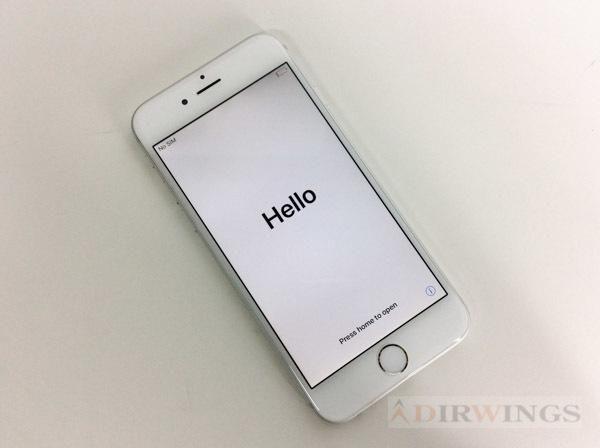 [PG]USED 6台入荷 Apple A1586 シルバー iPhone 6 16GB Docomo 判定- [RK1985001]