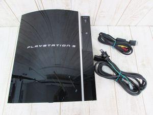 054B PS3(CECHL00) 80GB ブラック【ジャンク】