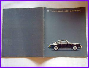 ★1985年・ポルシェ911カレラ/911ターボ カタログ・930系・43頁★
