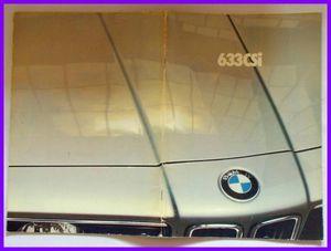 ★1982/01・BMW 633CSi 日本語カタログ・E24系・51頁★