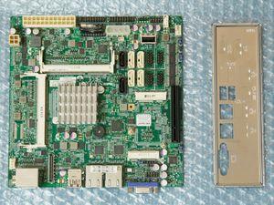 ★即決★ SUPERMICRO X10SBA REV:1.01A - Celeron J1900 (4コア,TDP10W) 搭載 Mini-ITX