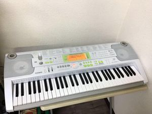 CASIO/カシオ 電子ピアノ 光ナビゲーションキーボード LK-202TV A0980