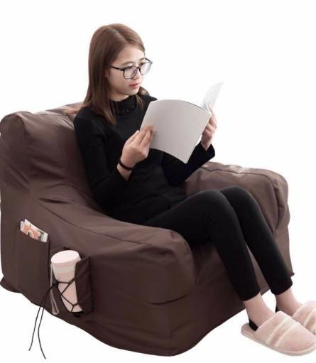 新品未開封★送料込み 座椅子 ソファー ローソファー 1人掛け肘付きソファー カバー取り