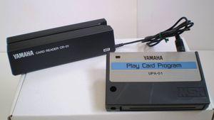 YAMAHA ZPA-01 PlayCard Set 動作確認済です。