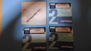 PC-8801FH N88-BASIC/日本語BASIC システムディスク他