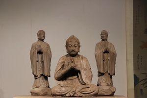 ◆厳◆【真作】★明時代・古楠木彫・大日如来護法像★極細工 置物 擺件 古賞物 中国古美