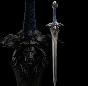 大迫力 全長120cm 金属製 模造刀 コスプレ 映画 小道具 勇者 剣 ソード 西洋剣 獅子紋章