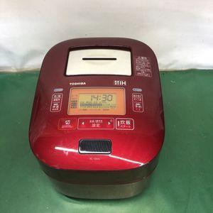 TOSHIBA 東芝真空圧力IHジャー 炊飯器 RC-10VXJ グレンレッド 1.0L 2016年製    ジャ
