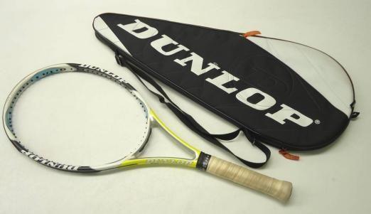即決【DUNLOP/ダンロップ】硬式テニスラケット earo gel 5HUNDRED フレーム★ラケットケ