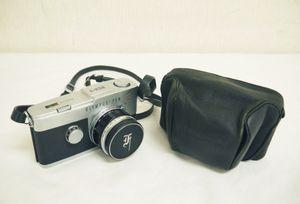 H835●OLYMPUS-PEN オリンパス PEN-F 一眼レフ フィルムカメラ レンズ 1:1.8 f=38mm 1640