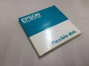 中古品 EPSON 日本語 Disc BASIC Ver 3.0 ケース付 現状品