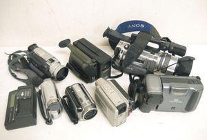 H4●まとめ売り ビデオカメラ 7台セット 8ミリ デジタルカメラ ハンディカム DCR-TRV20/C