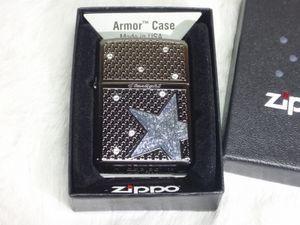 Bとま0940 メール便 送料280円 新品 Zippo/ジッポー アーマー 星 スターライト スワロフ