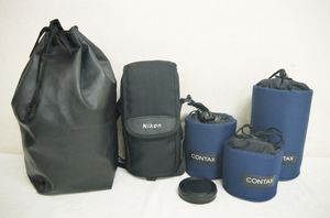 H761●美品 CONTAX コンタックス レンズケース MCL-1 MCL-2 MCL-3 Nikon ニコン レンズケ