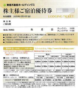 東急不動産 リゾートホテルハーヴェスト株主優待券 4枚セット 送料込