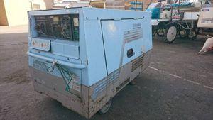 新潟発 デンヨー発電溶接機 TLW-300SSK 発電機 溶接機 4,773h ディーゼルエンジン 始動OK