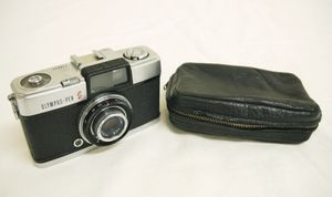 H14●日本製 OLYMPUS-PEN S オリンパス ペン フィルムカメラ 179932 レンズ D.Zuiko 1:2.