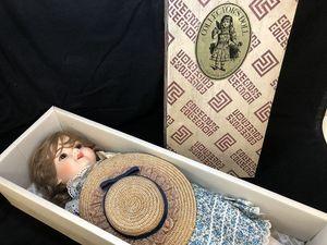 E204-N4-308 Collectors Doll ビスクドール CD-80 全長約60㎝ 現状品⑪