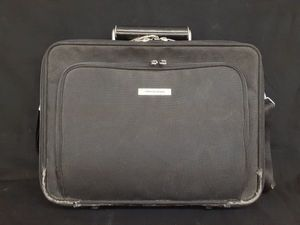 C039-gA2455 PORSCHE DESIGN ポルシェデザイン ビジネスバッグ ブラック 黒 H300×W400