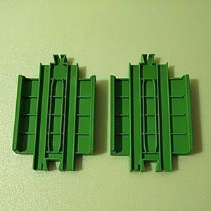 プラレール【同梱OK】緑色 ガーター橋 2個