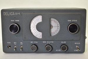 希少 三田無線 DELICA CS-6 [真空管][受信機][6球][GT管][三田無線研究所製]