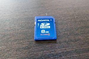 中古 ADATA SDカード 8GB Class 4