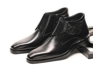 新入荷☆定番商品手作業★純手作業★高品質メンズブーツ紳士靴皮革靴サイズ選択可能H306