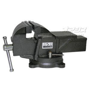 【新品】強力鋳鉄製 回転台付リードバイス 150mm HRV-150