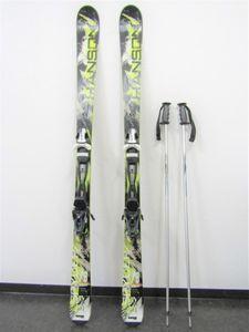 HANSON スキー板 SPYDER ビンディング SNOWPAL ストック 3点セット 板 全長約163cm ウィ