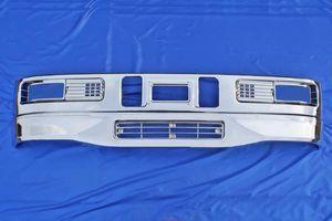 三菱 ふそう スーパーグレート 540H メッキ フロント バンパー セット & ガーニッシュ 新