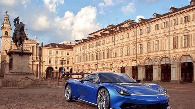 Pininfarina Battista на саемот во Торино