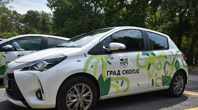 Градот Скопје набави хибридни возила